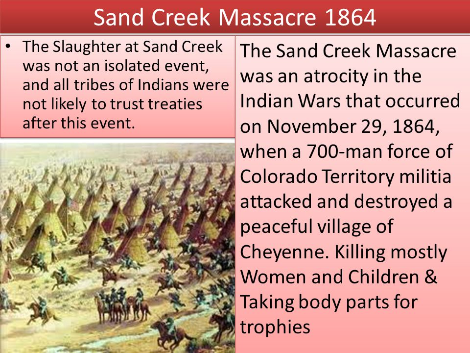 Sand Creek Massacre 1864