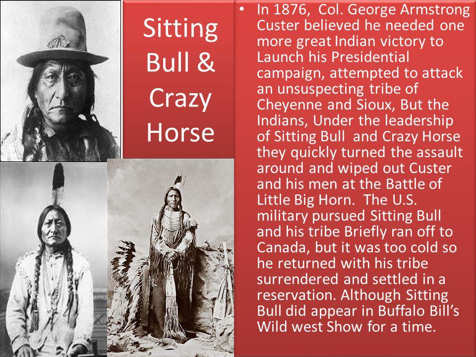 Sitting Bull & Crazy Horse