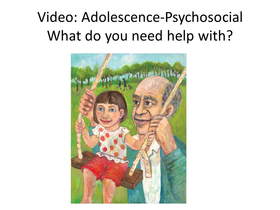 Video: Adolescence-Psychosocial What do you need help with