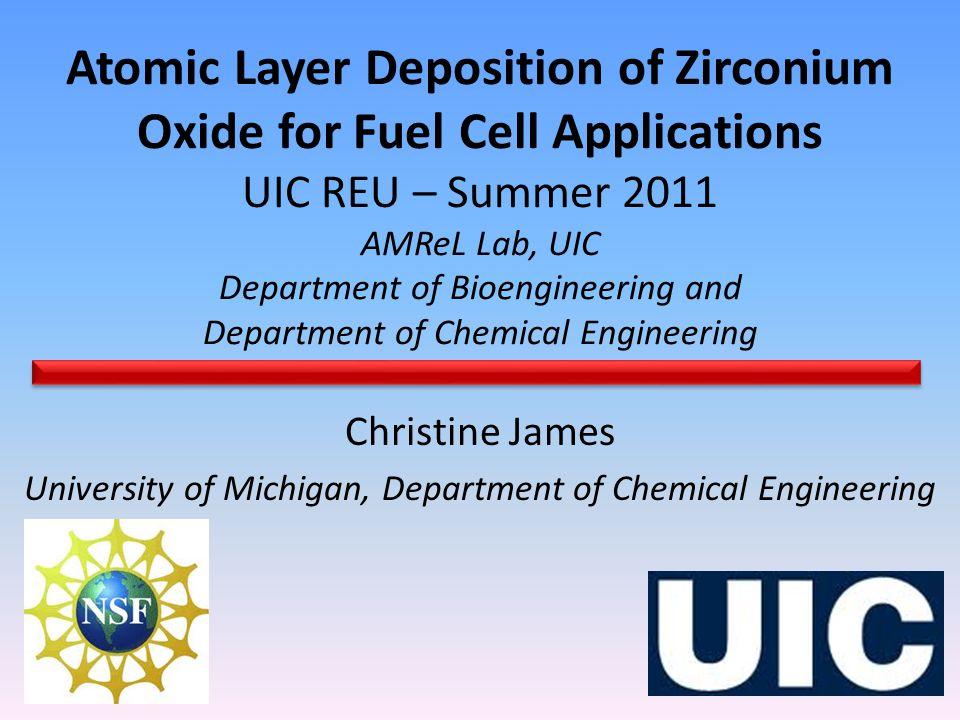 University of Michigan, Department of Chemical Engineering