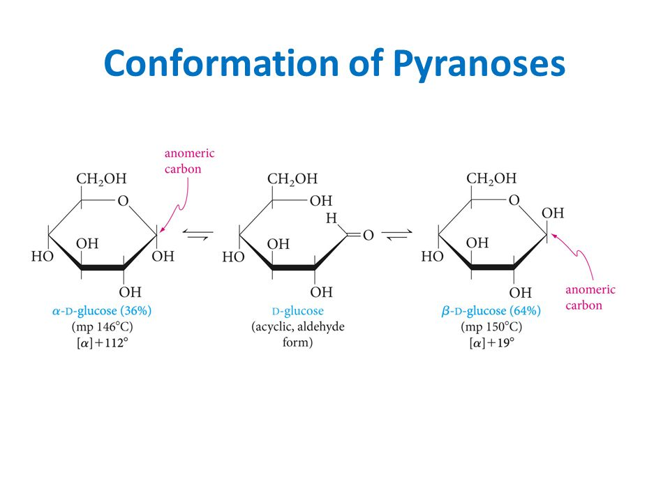 Conformation of Pyranoses