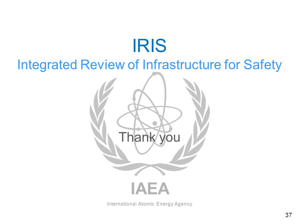 Integrated Review of Infrastructure for Safety