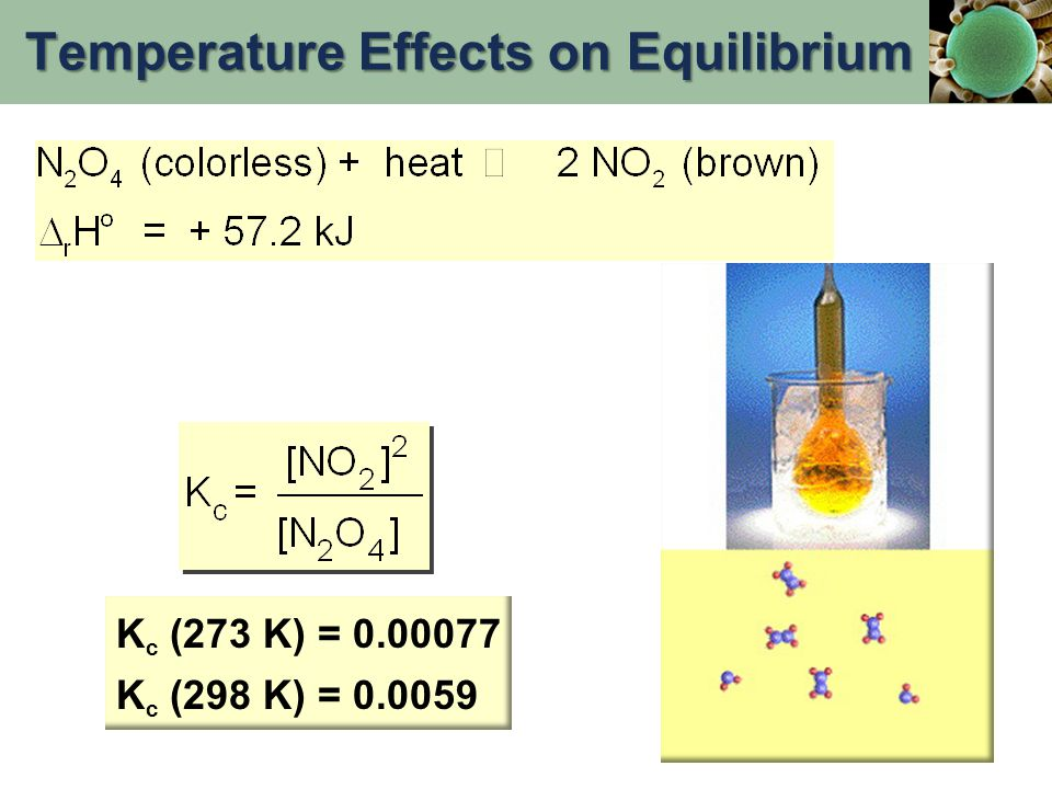 Temperature Effects on Equilibrium