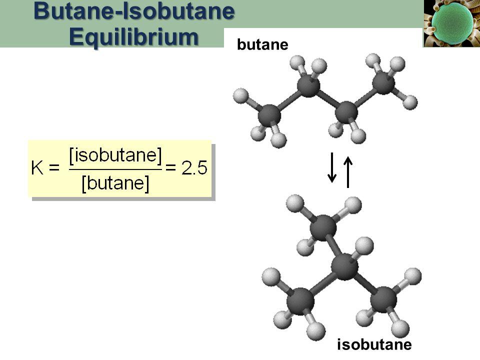 Butane-Isobutane Equilibrium