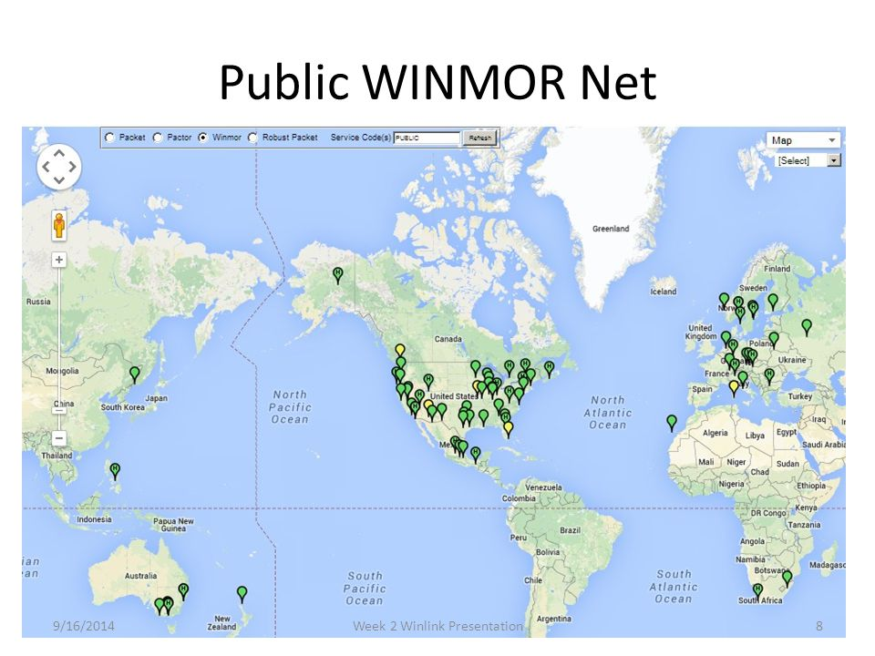 Week 2 Winlink Presentation