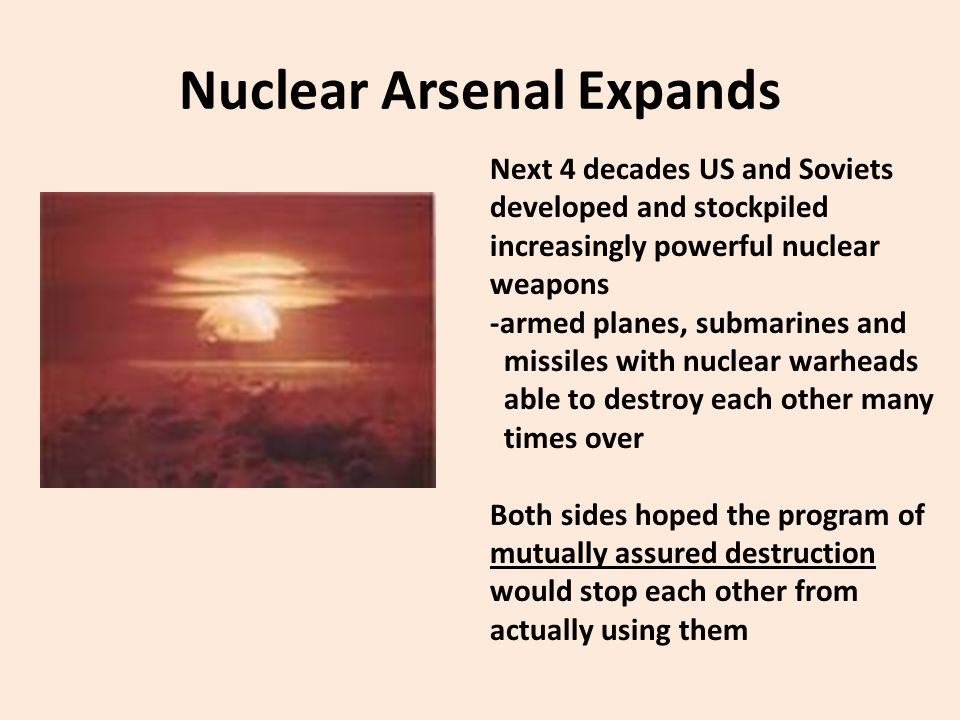 Nuclear Arsenal Expands