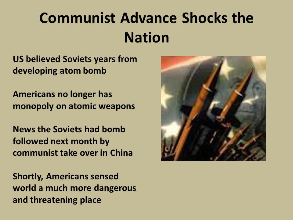 Communist Advance Shocks the Nation