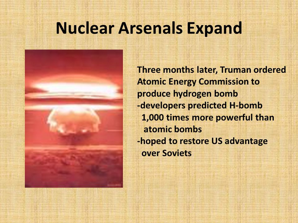 Nuclear Arsenals Expand