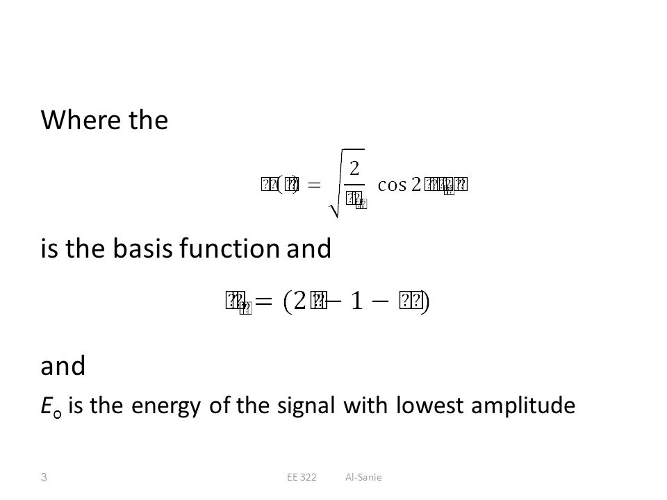 is the basis function and