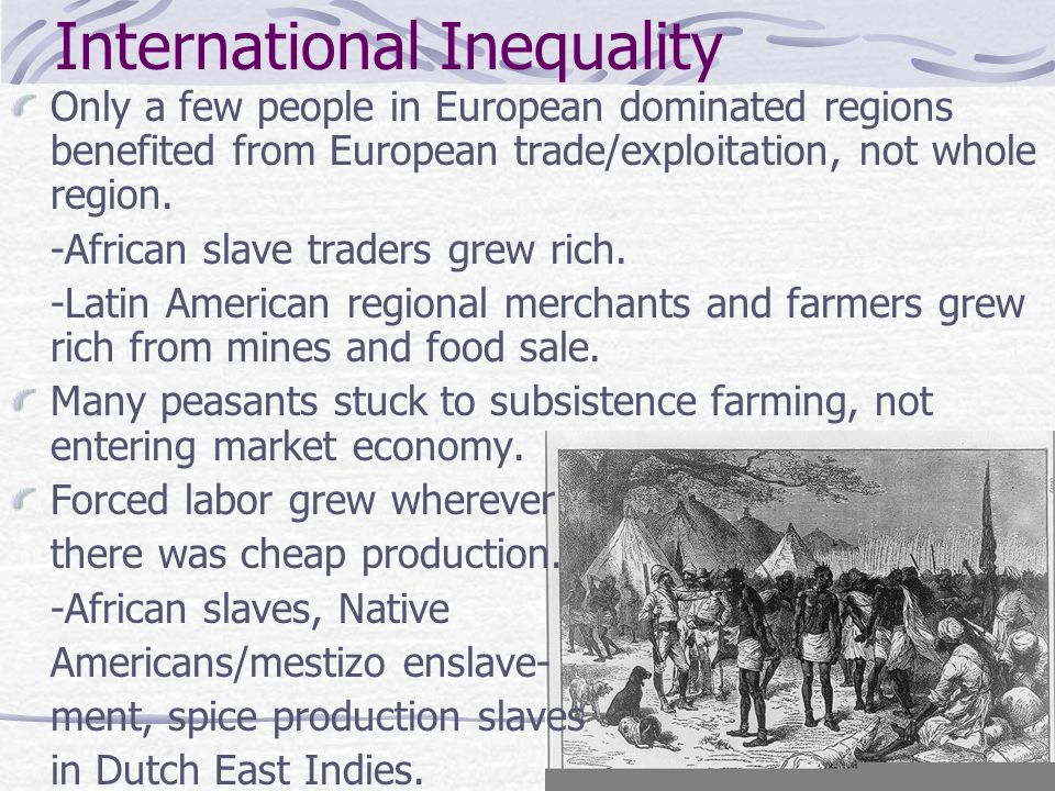 International Inequality