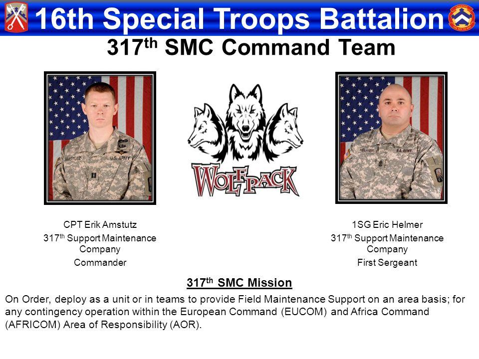 317th SMC Command Team 317th SMC Mission