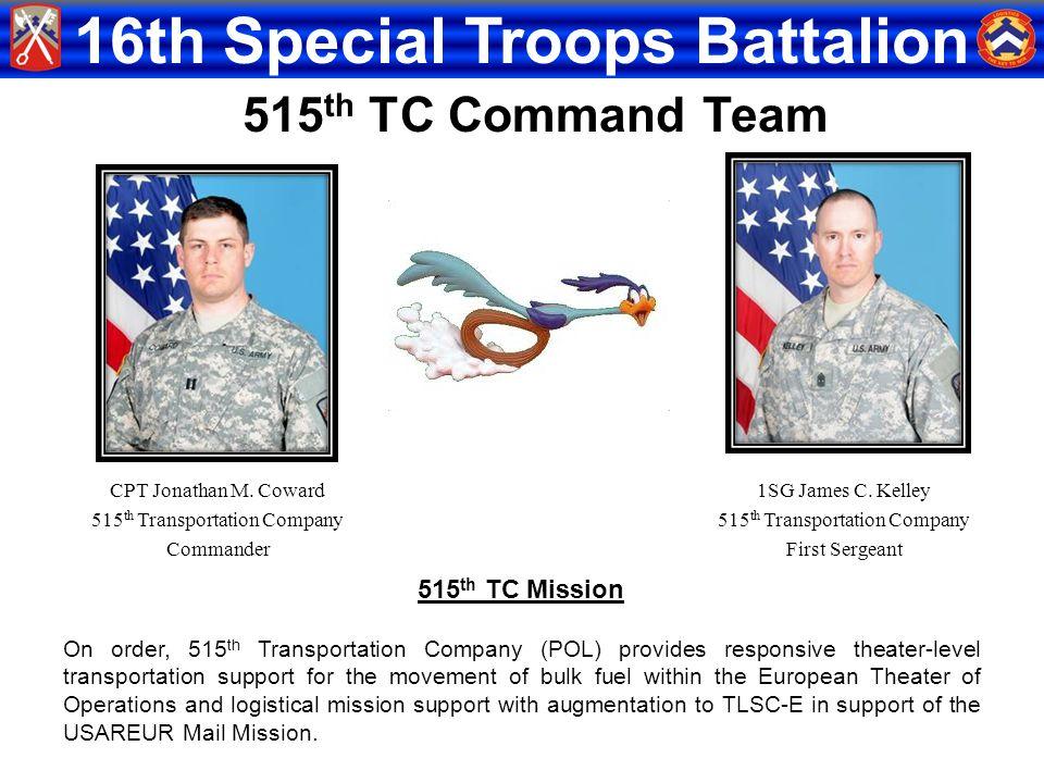 515th TC Command Team 515th TC Mission