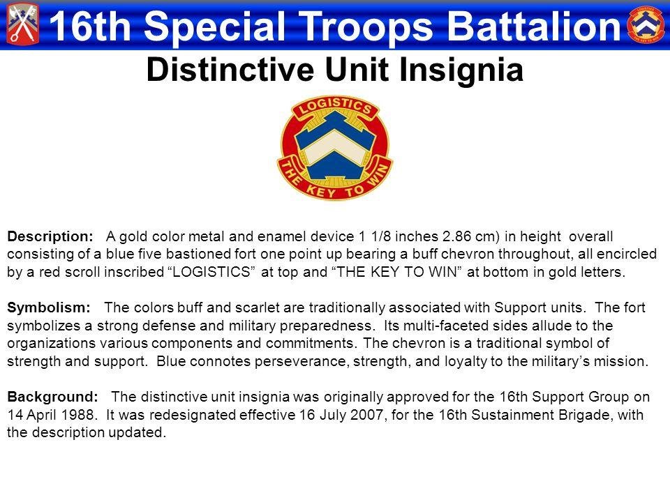Distinctive Unit Insignia
