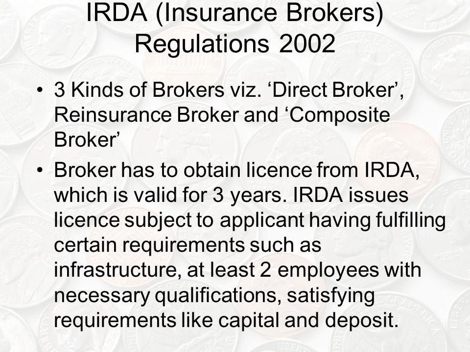 IRDA (Insurance Brokers) Regulations 2002