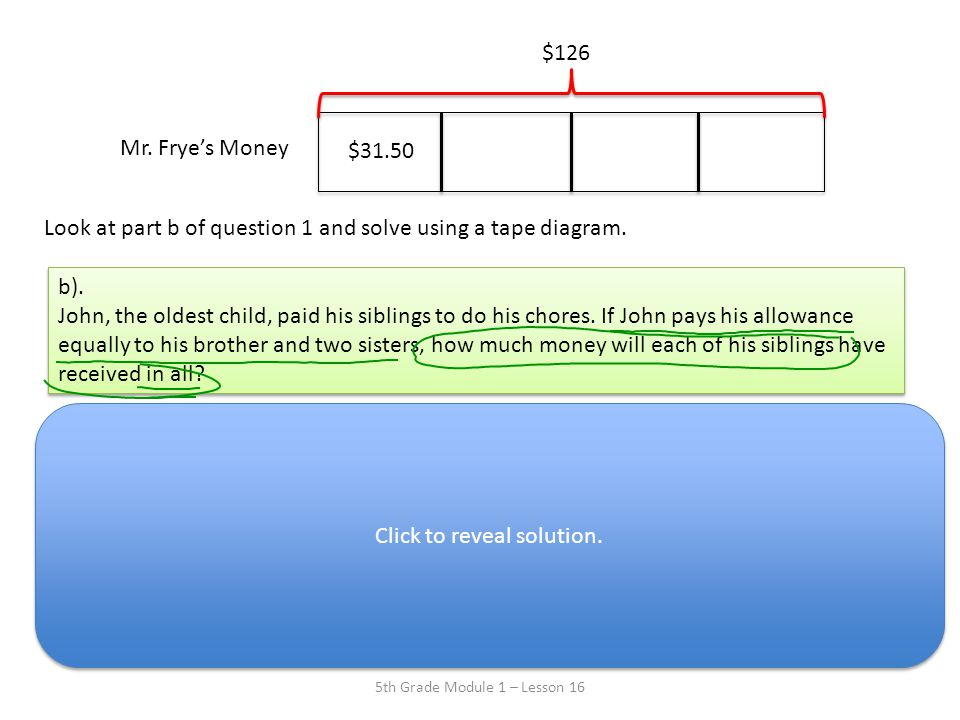 Lesson 16 i can solve word problems using decimal operations ppt 6 mr ccuart Gallery