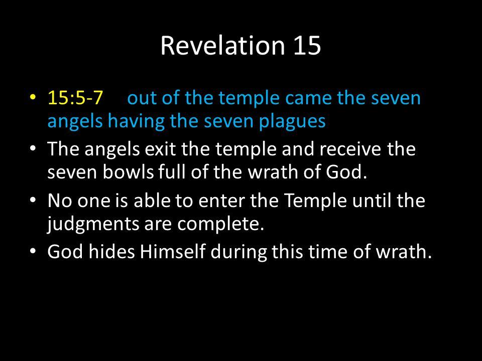 The Seven Bowls of God...