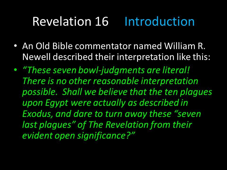Revelation 16 Introduction
