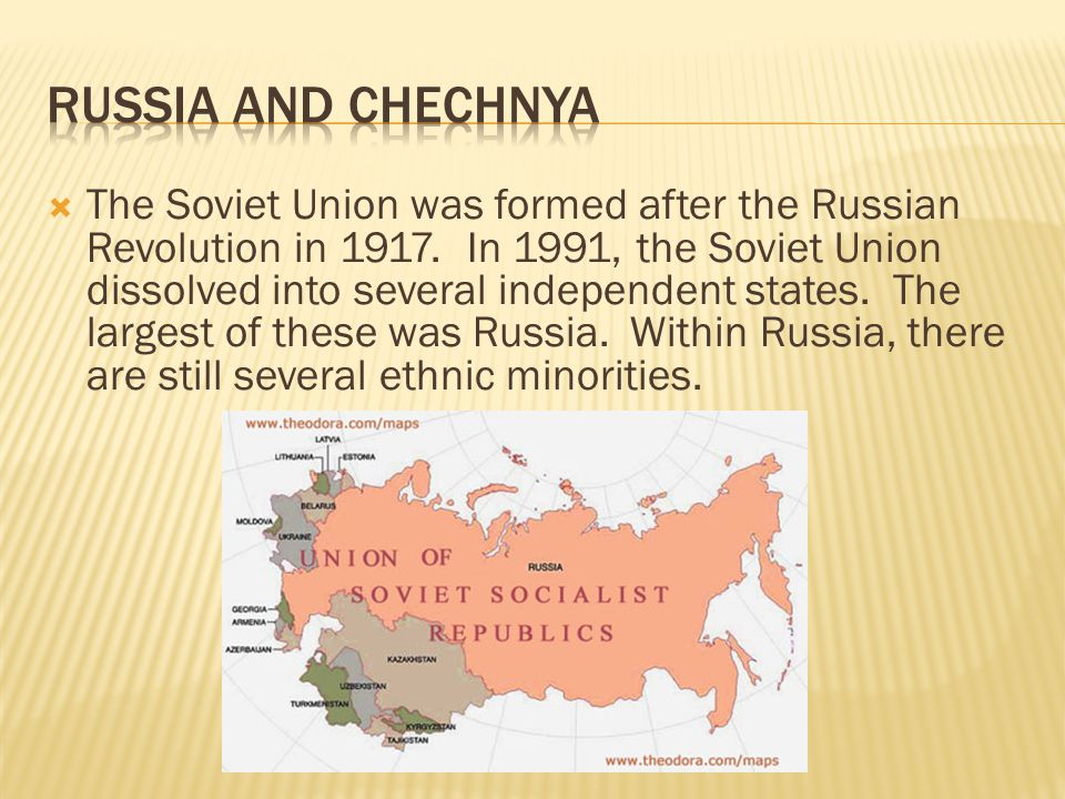 Russia and Chechnya