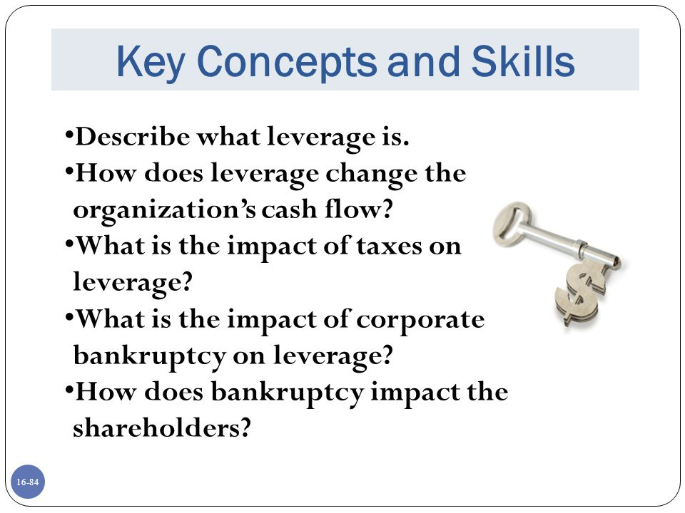 Key Concepts and Skills