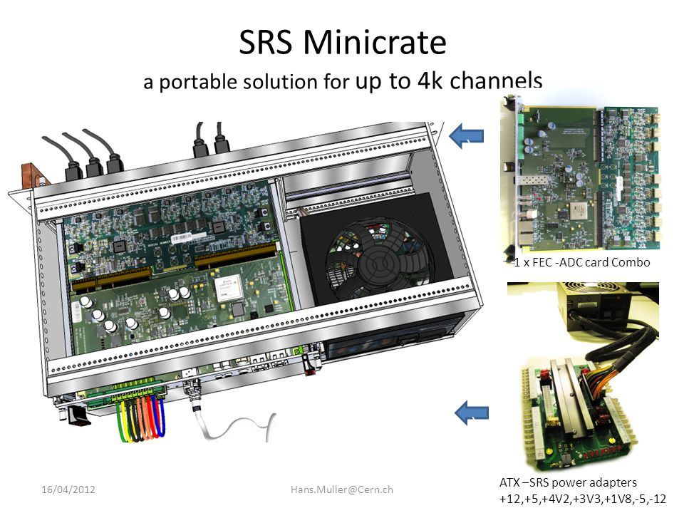 SRS Minicrate a portable solution for up to 4k channels