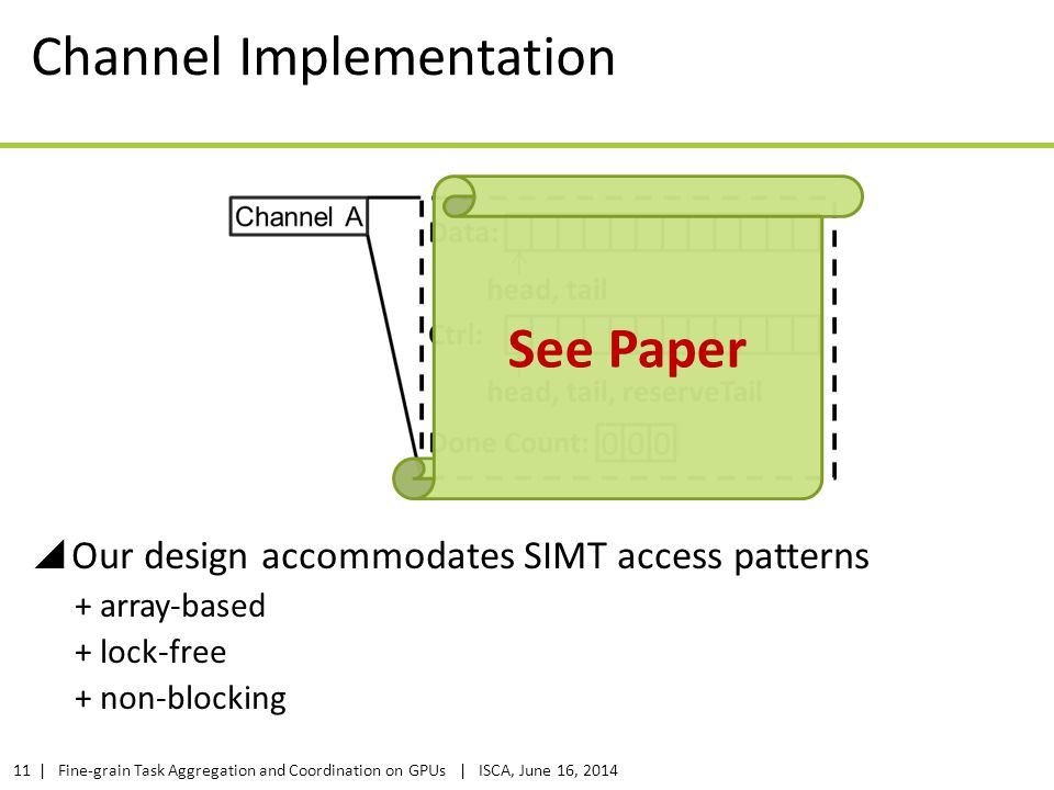 Channel Implementation