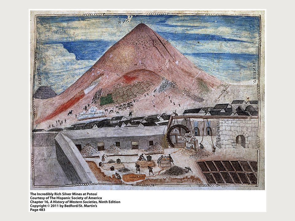 Silver Mine at Potosi, (p. 483)