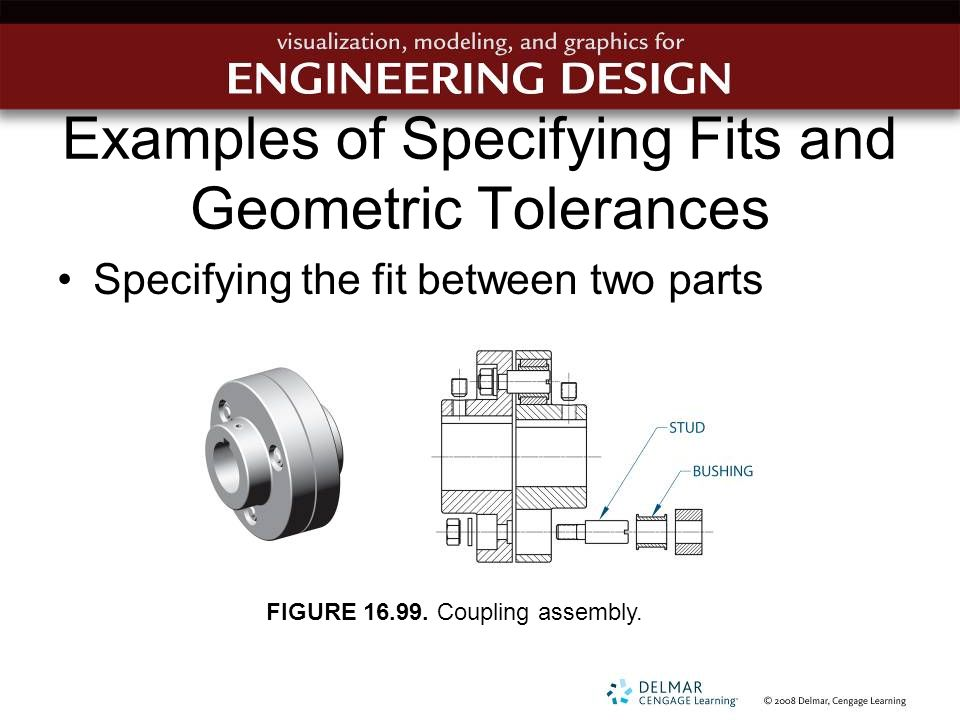 Examples of Specifying Fits and Geometric Tolerances