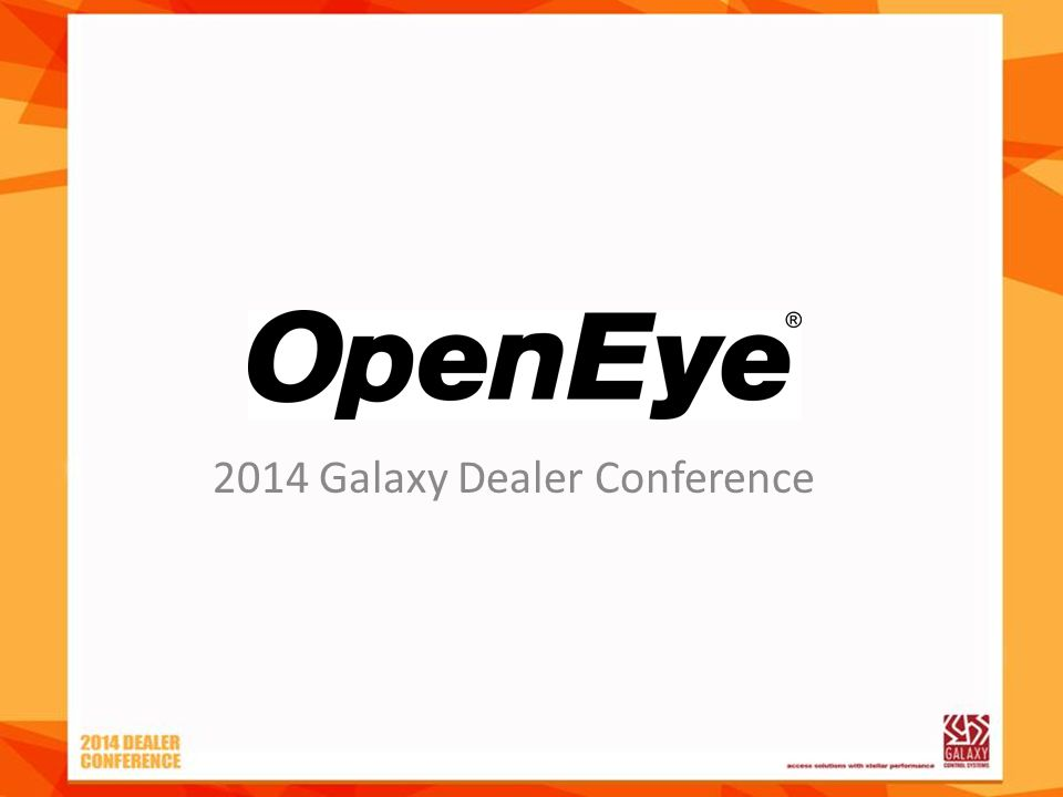 2014 Galaxy Dealer Conference