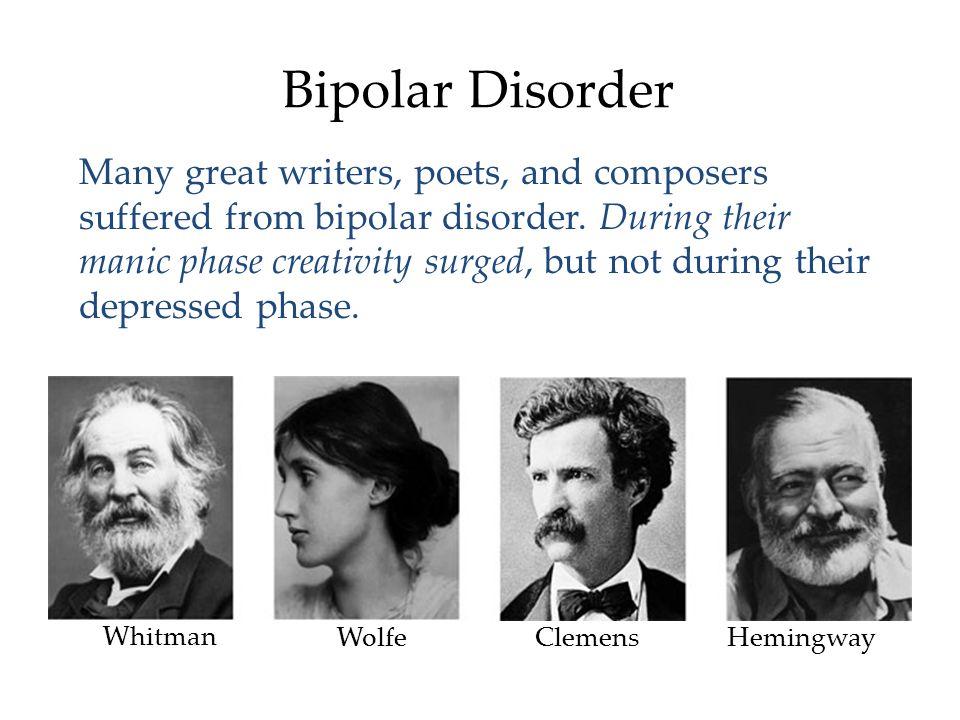 bipolar writers