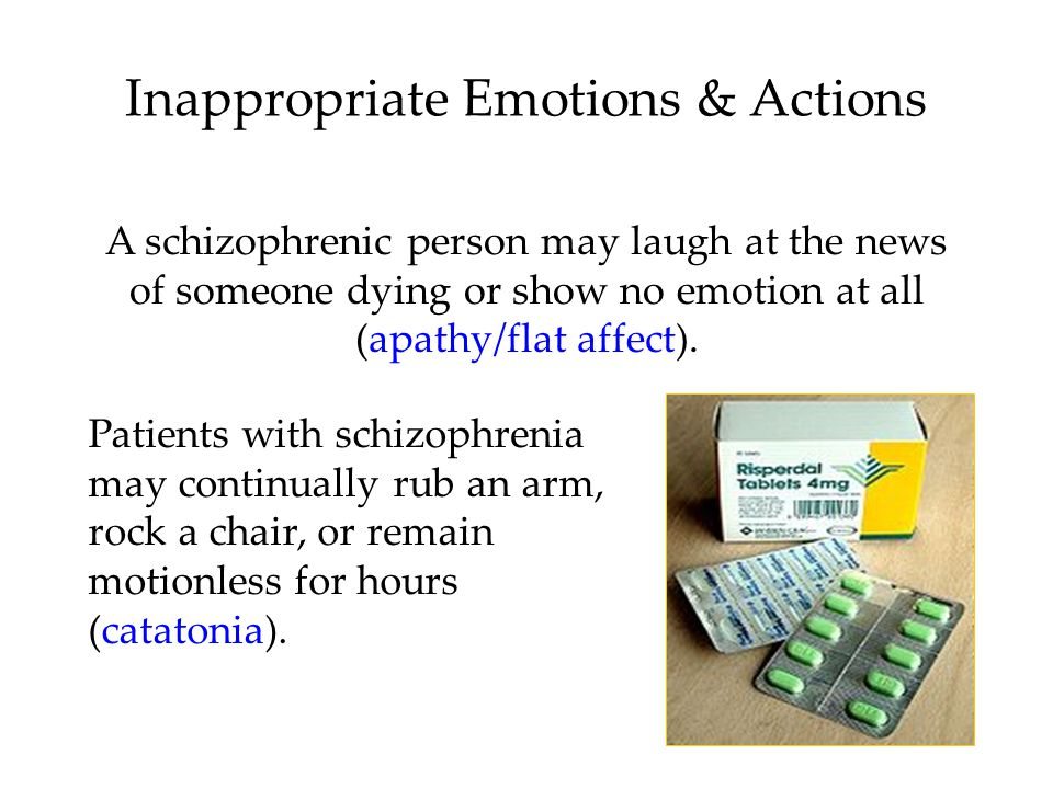 Inappropriate Emotions & Actions