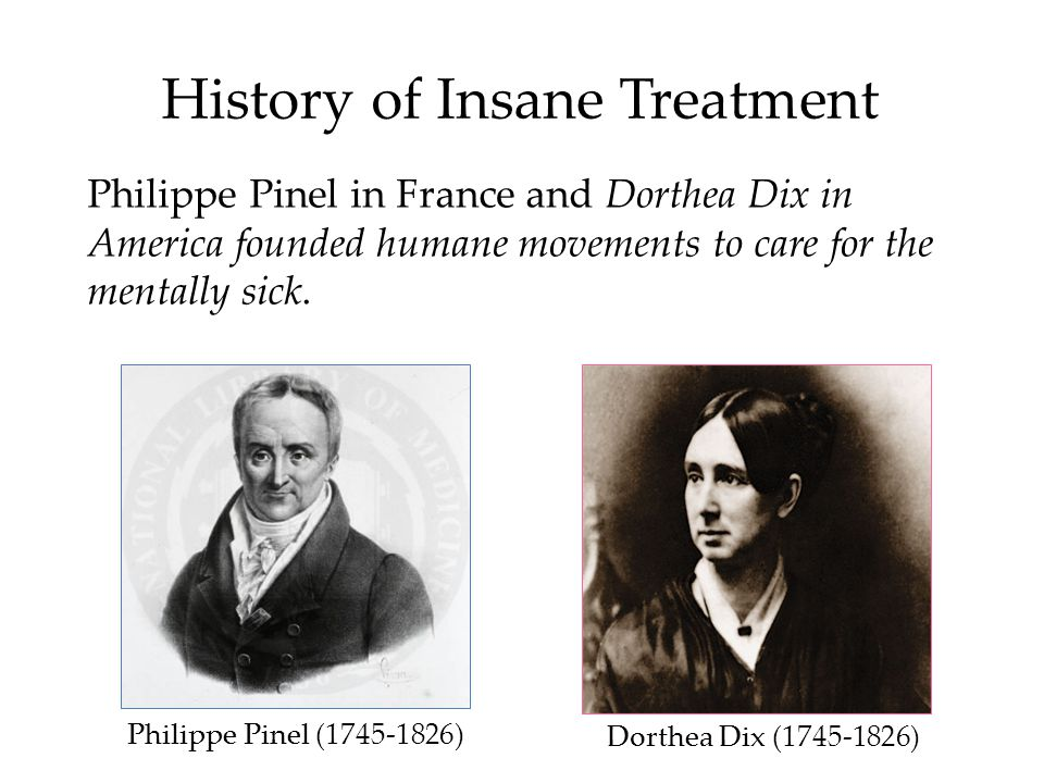 History of Insane Treatment