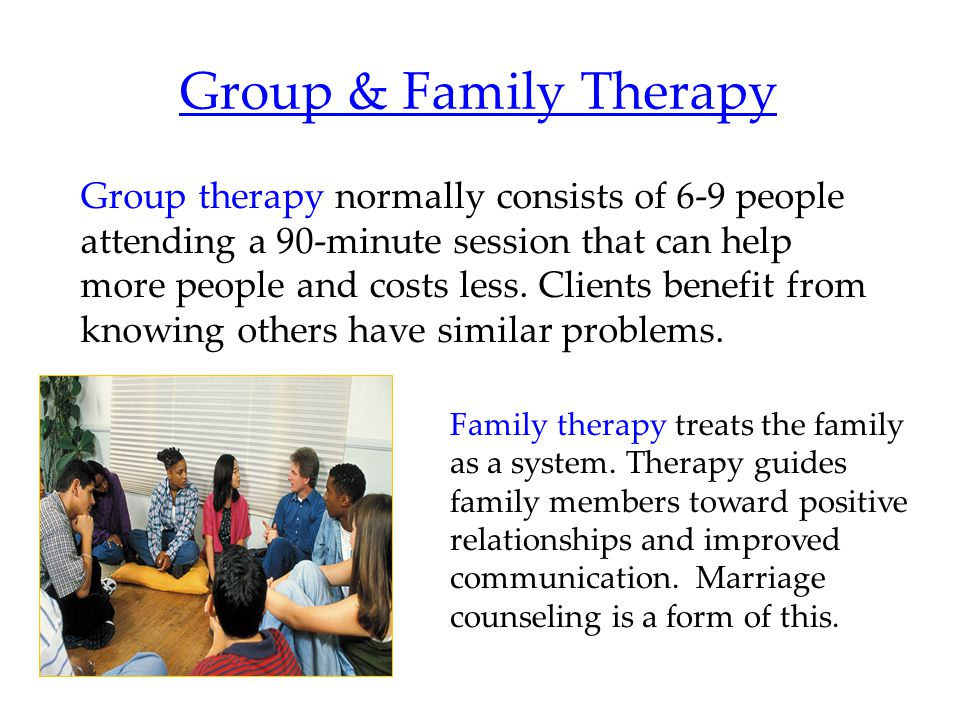 Group & Family Therapy
