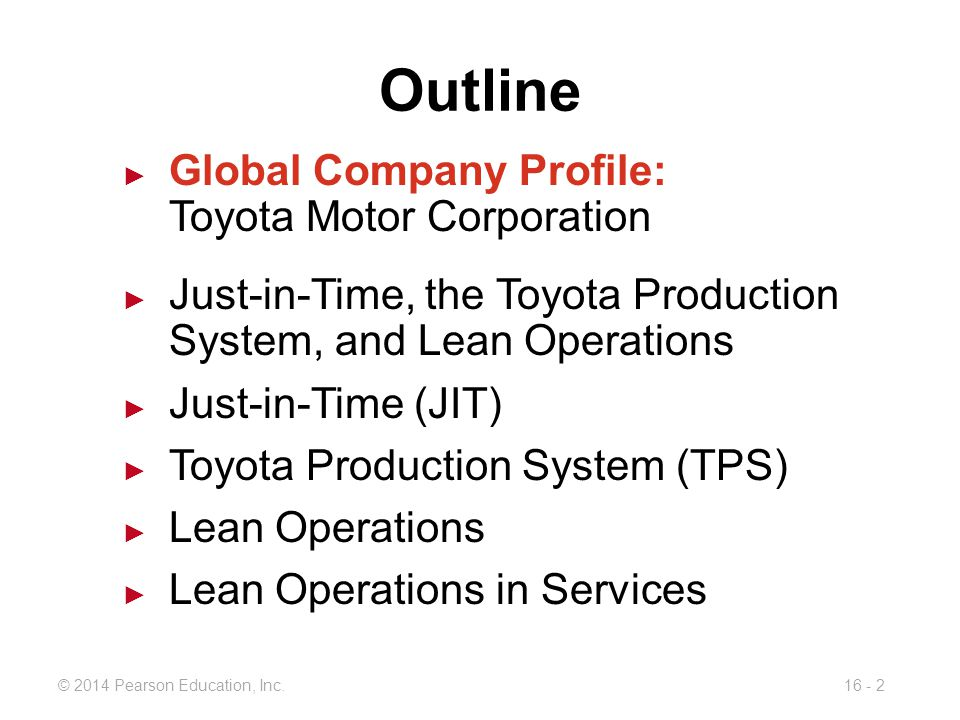 Jit Tps And Lean Operations Ppt Video Online Download