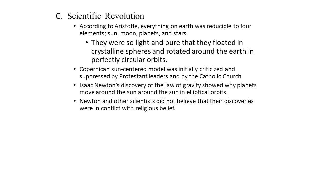 C. Scientific Revolution