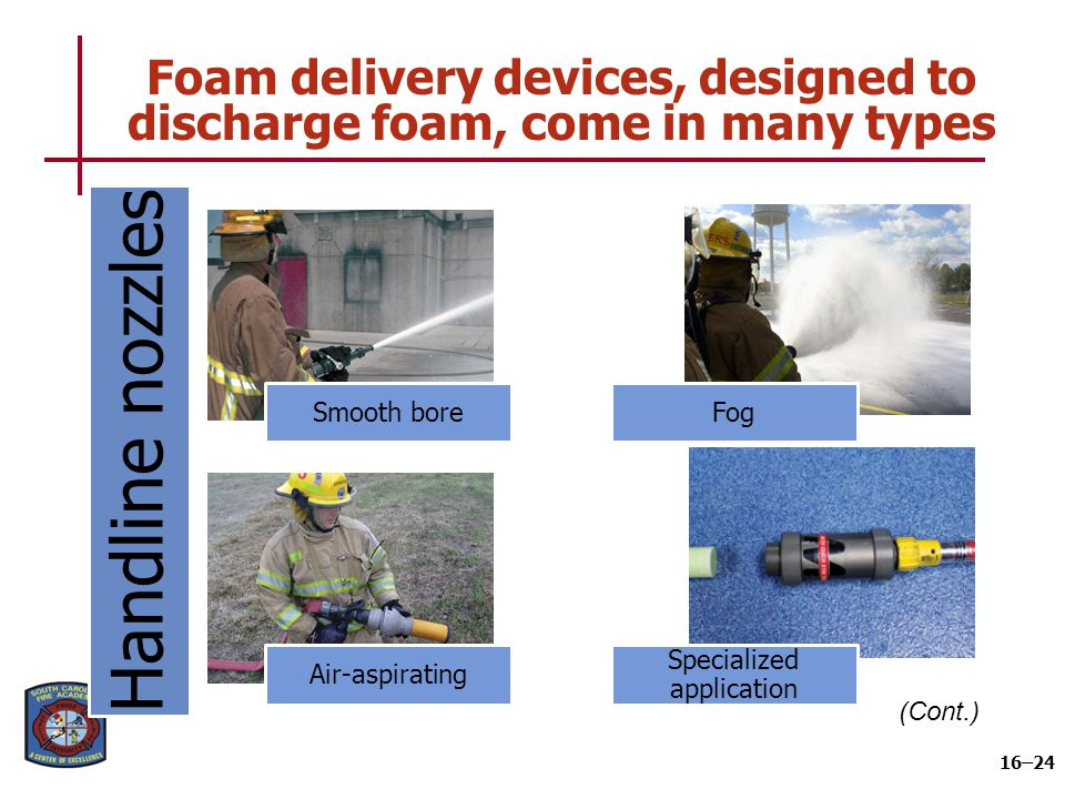 Foam delivery devices, designed to discharge foam, come in many types