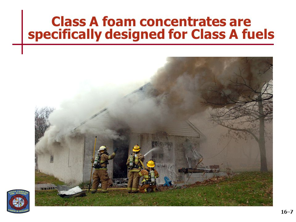Class B foam concentrates have several uses based on Class B fuels