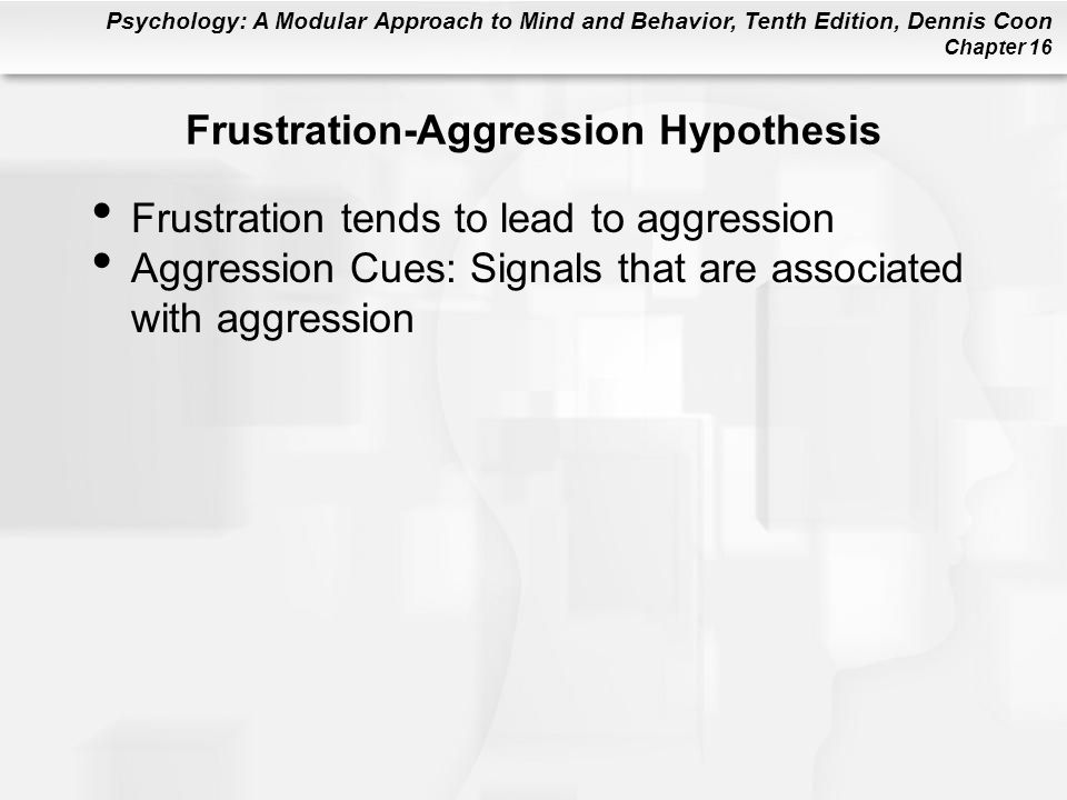 Frustration-Aggression Hypothesis