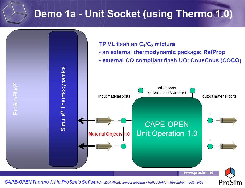 Demo 1a - Unit Socket (using Thermo 1.0)