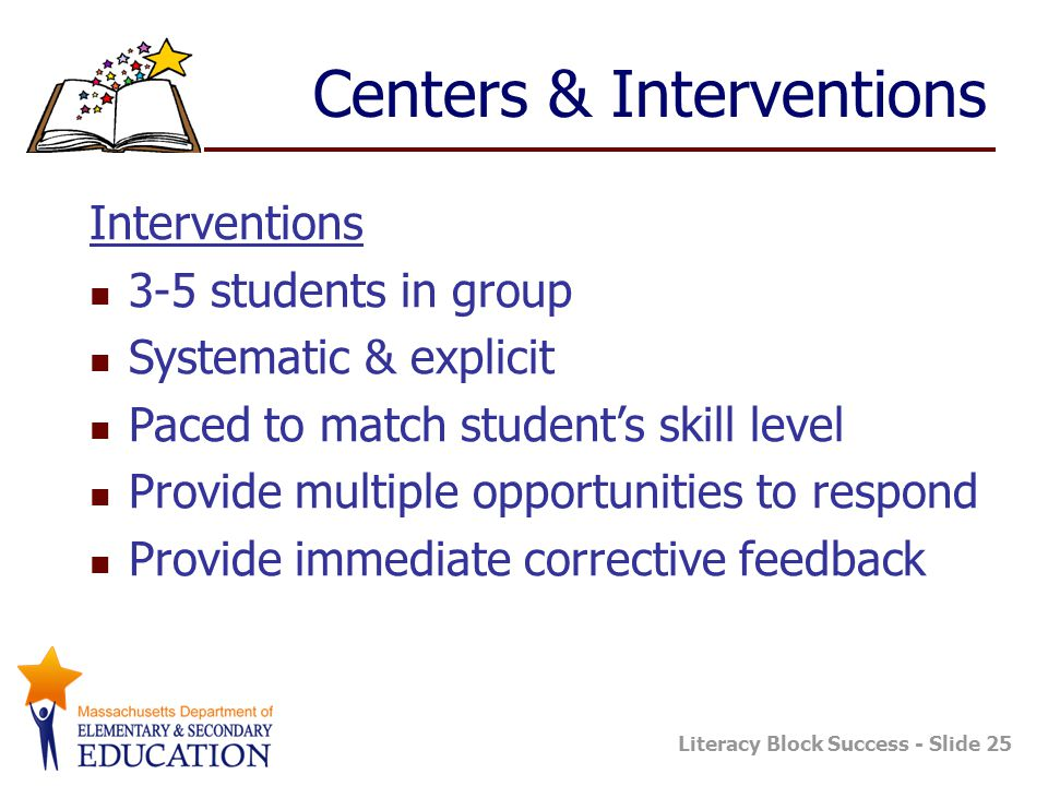 Centers & Interventions