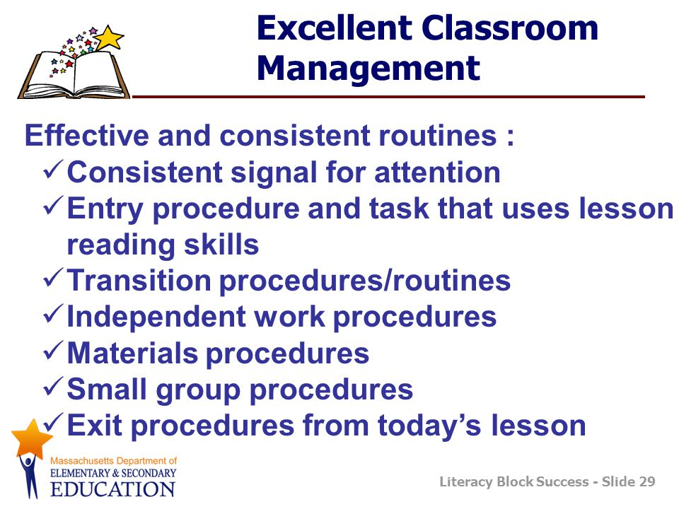 Excellent Classroom Management