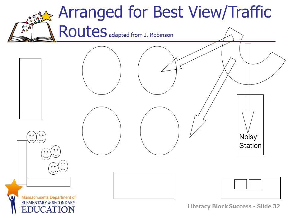 Arranged for Best View/Traffic Routes adapted from J. Robinson