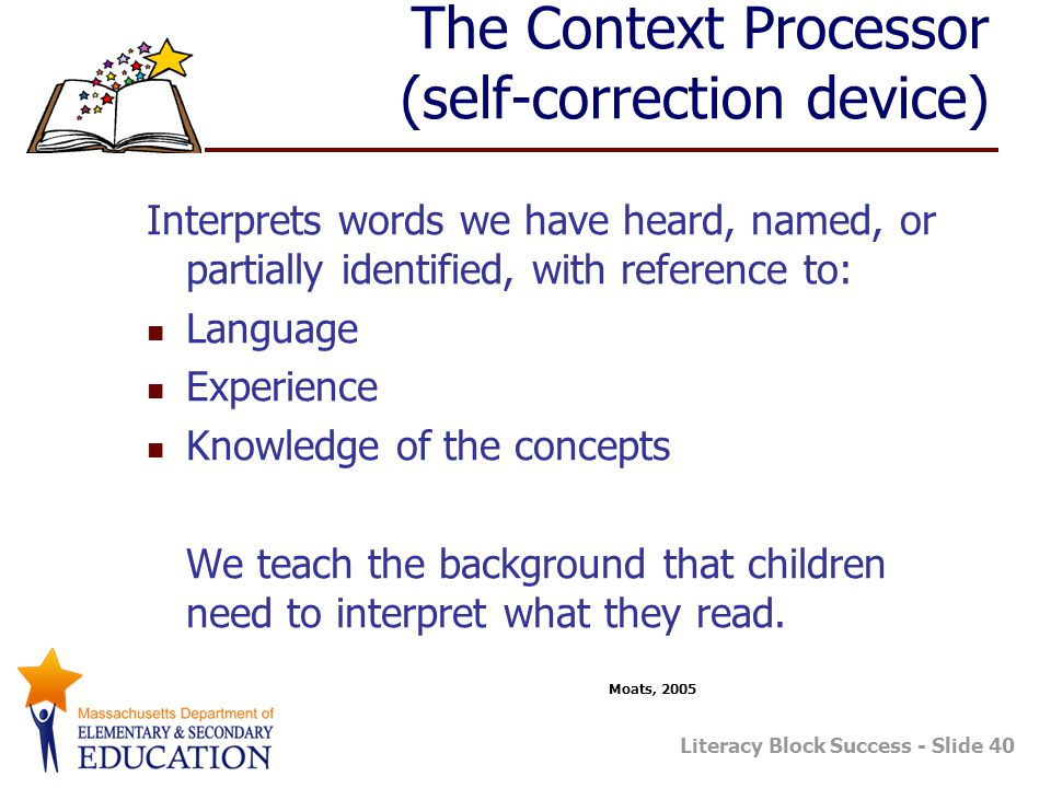 The Context Processor (self-correction device)