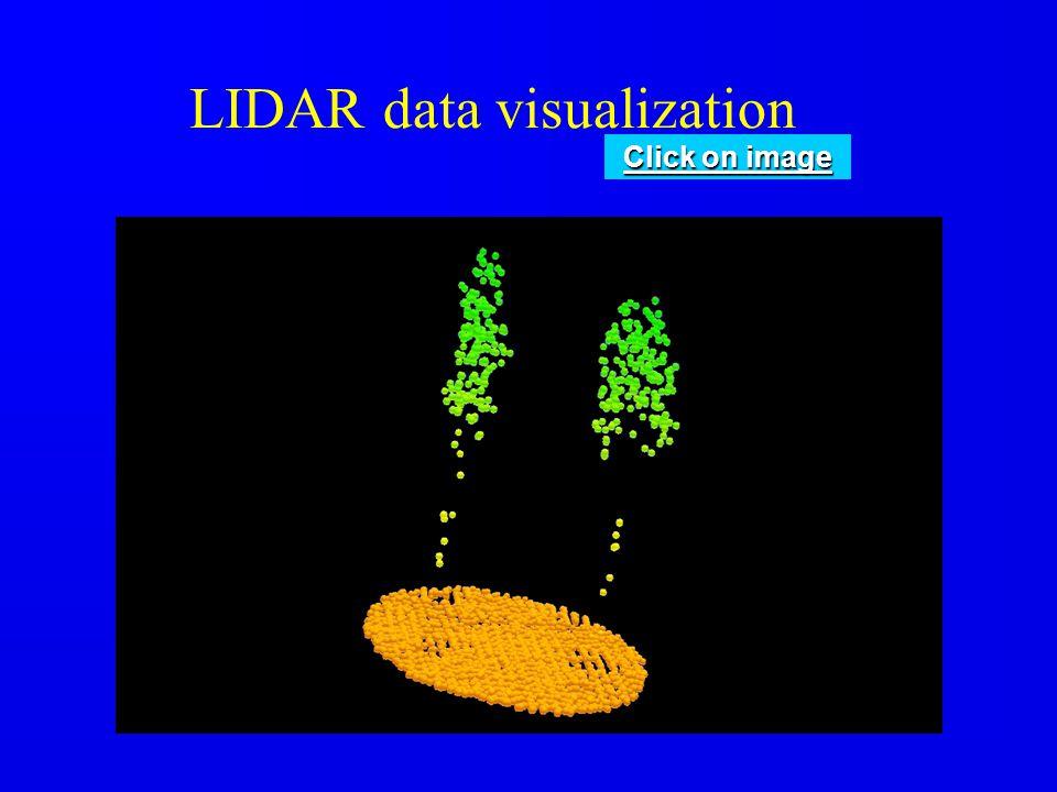 LIDAR data visualization