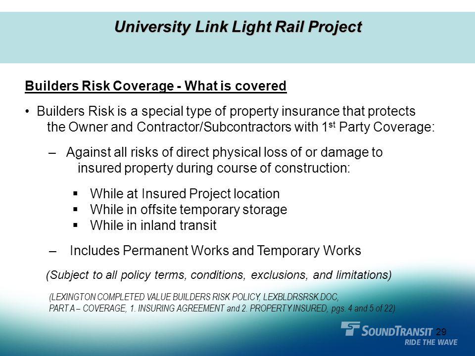 University Link Light Rail Project