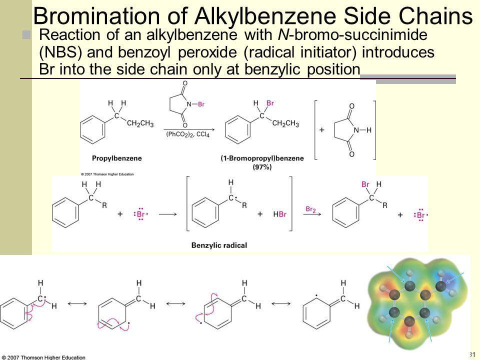 Bromination of Alkylbenzene Side Chains