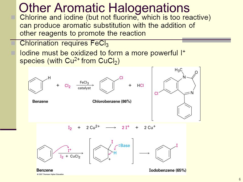 Other Aromatic Halogenations