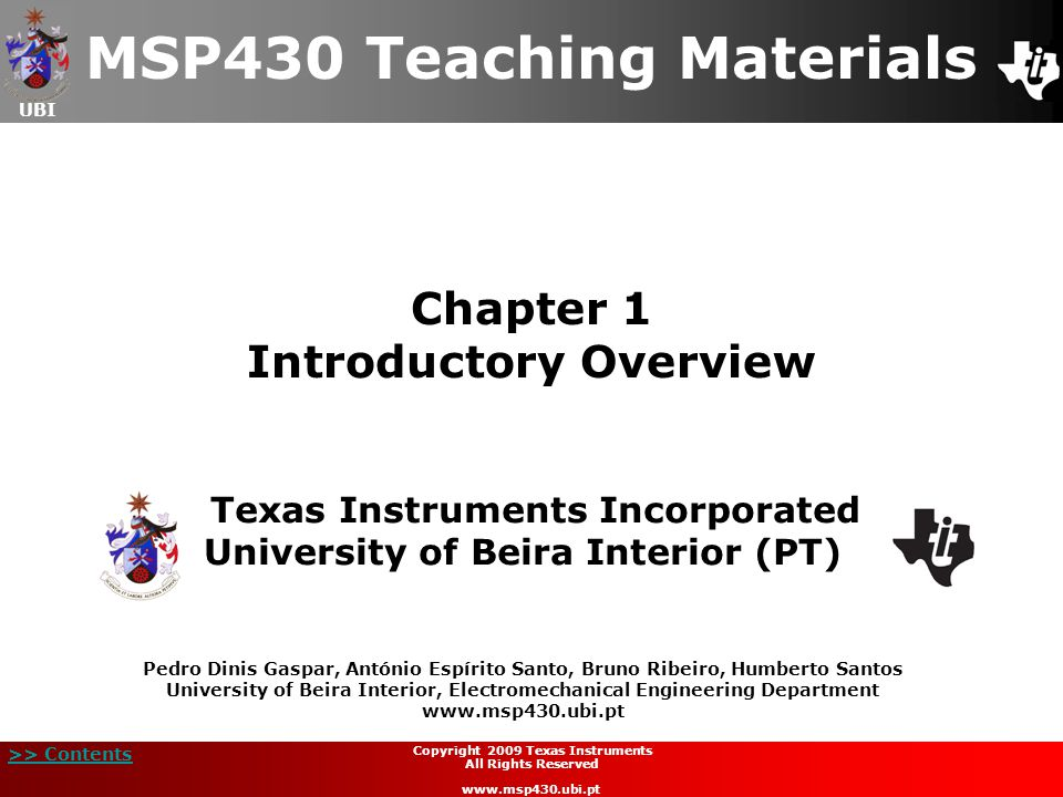 Chapter 1 Introductory Overview