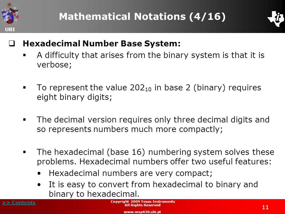 Mathematical Notations (4/16)