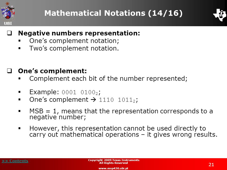 Mathematical Notations (14/16)