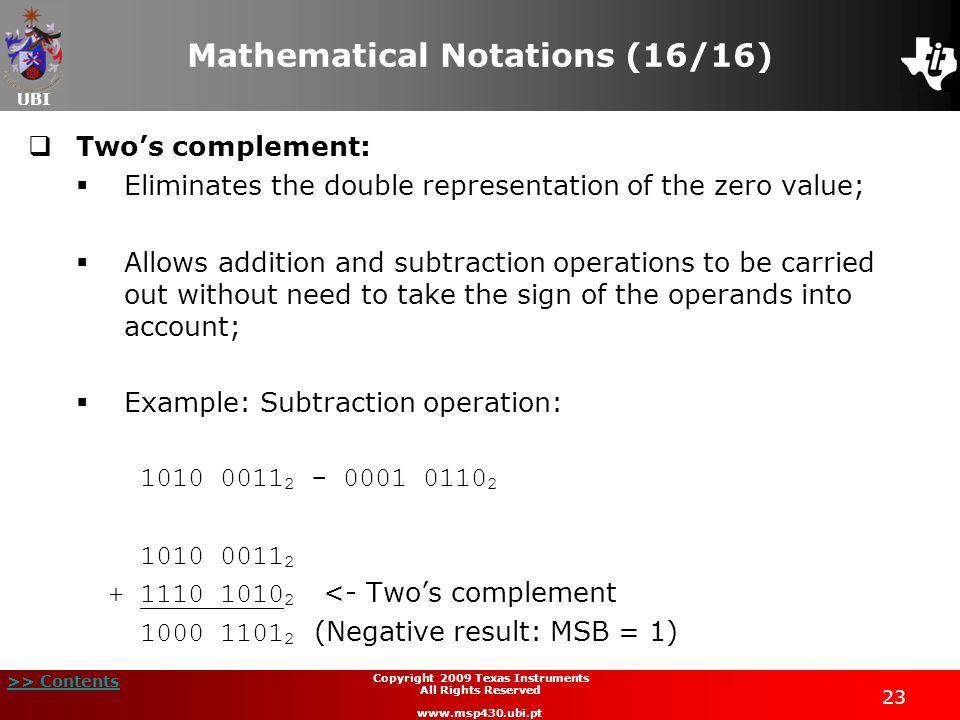 Mathematical Notations (16/16)